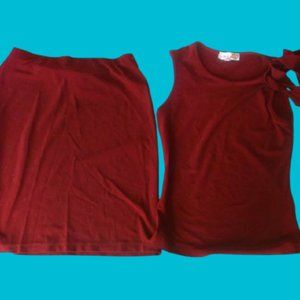 Le Chateau Skirt Set Girl size Large